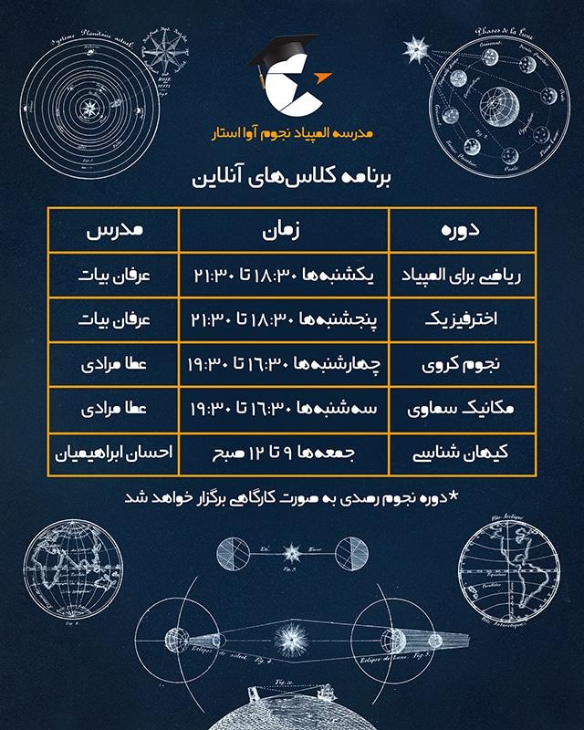 برنامه المپیاد نجوم