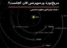 نقشه اینتراکتیو منظومه شمسی